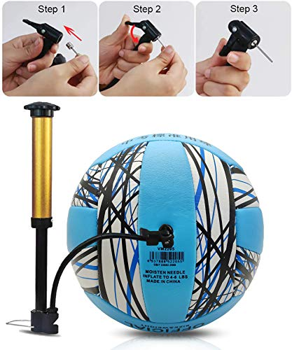 Senston Volleyball for Indoor Outdoor, Soft Touch Beach Volleyball Official Size 5