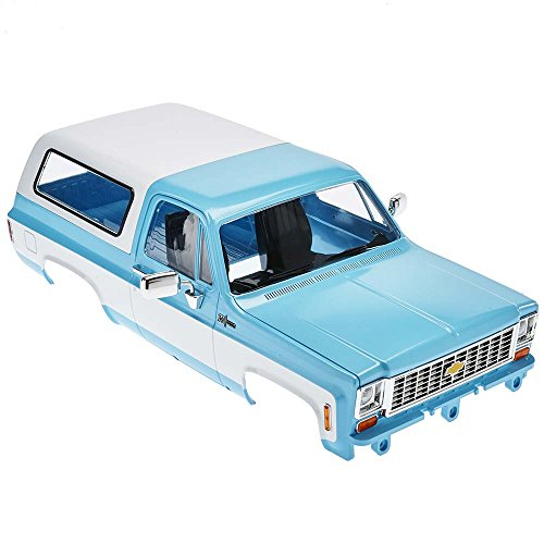 RC4WD Chevrolet Blazer Scale Hard Body Complete Set LIGHT BLUE Z-B0148 K5