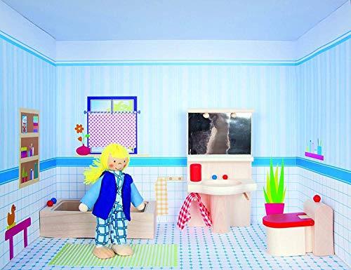 Rulke Rulke22879Dollhouse sur étagère de Salle de Bain Jouet