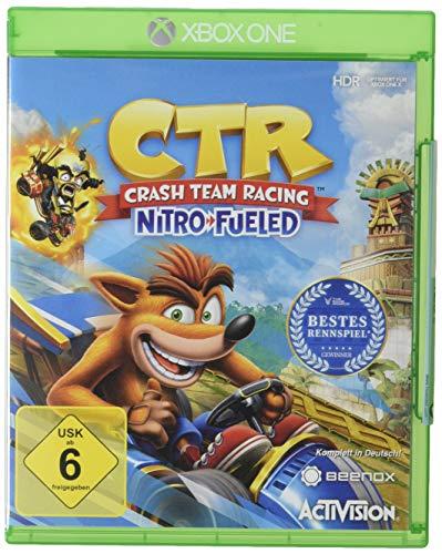 CTR Crash Team Racing Nitro Fueled [Versión alemán]