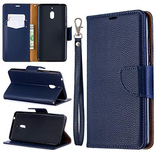 Custodia Nokia 2.1 Cover, SHUYIT Alta qualità Portafoglio Custodia in Pelle PU Case Cover Stand Carta Slot Chiusura Magnetica Caso Wallet Flip Cover per Nokia 2.1 2018