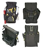 CLC 1523 Small Utility Maintenance Electrician Zippered Tool Belt Pouch
