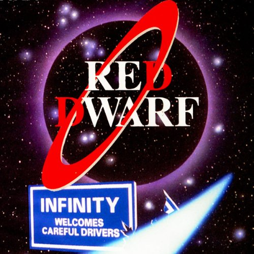 Red Dwarf audiobook cover art