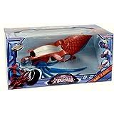 SPIDERMAN Slam 'n Blast Abschussrampe LED Fahrzeug Auto Kinder Spielzeug