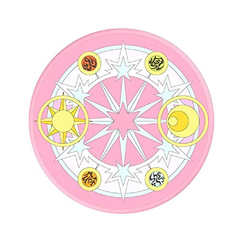 RegisBox Cardcaptor Sakura Magic Circle Wireless Charger CCS Clear Card Magic Array Phone Charger 10W Qi Certified
