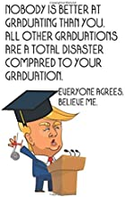 nobody is better at graduating than you. all other graduations are a total disaster compared to your graduation. Everyone agrees. believe me: Funny ... keepsake (funny graduation gifts 2020)