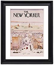 EV The New Yorker Cover Saul Steinberg USA 1967 Picture Frame - Poster - Print