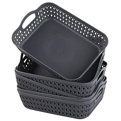 Cestas Almacenaje Cocina Plastico cestas almacenaje  Marca Gitany