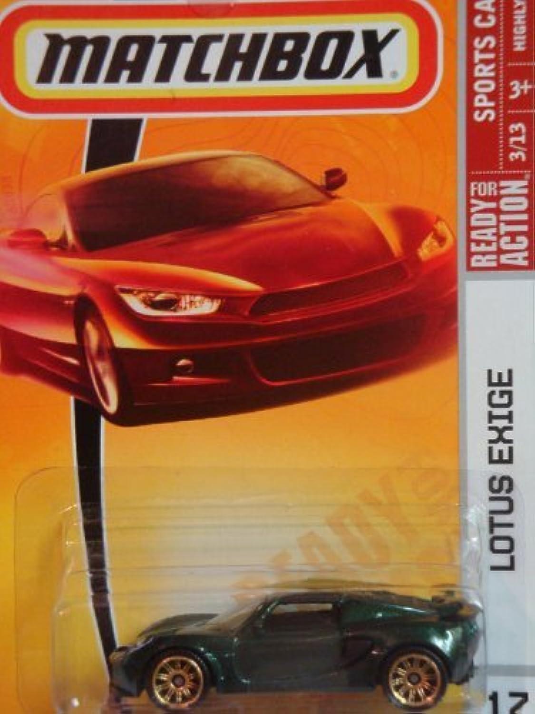 diseños exclusivos Matchbox Lotus Exige verde   17, 17, 17, 2008 Sports Coches, 1 64 Scale by Matchbox  seguro de calidad