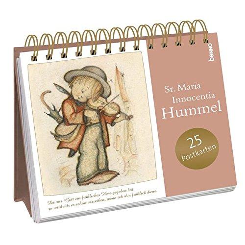 Postkarten-Aufsteller »Da mir Gott ein fröhliches Herz gegeben hat, …«: Aufsteller mit 24 Postkarten zum Heraustrennen (perforiert)