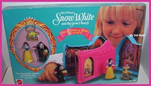 Disney 's Snow Weiß And The Seven Dwarfs Once Upon A Time Spielzeug-Set
