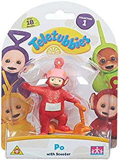 Teletubbies – Po sur sa Trottinette – Mini Figurine 7 cm