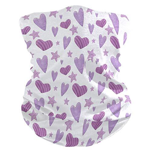 Aquarel harten patroon gezichtsmasker Anti druppel multifunctionele magische sjaal motorfiets buitensport naadloze kleurrijke Wrap hoofdband sjaal