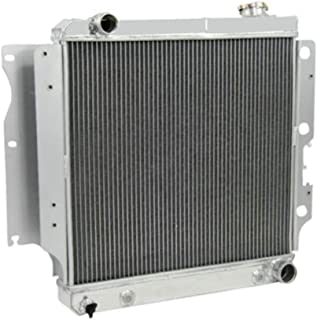 OzCoolingParts 4 Row Core Aluminum Radiator for 1987-2006 88 89 90 91 92 93 94 95 96 97 98 99 00 01 02 03 04 05 Jeep Wrang...