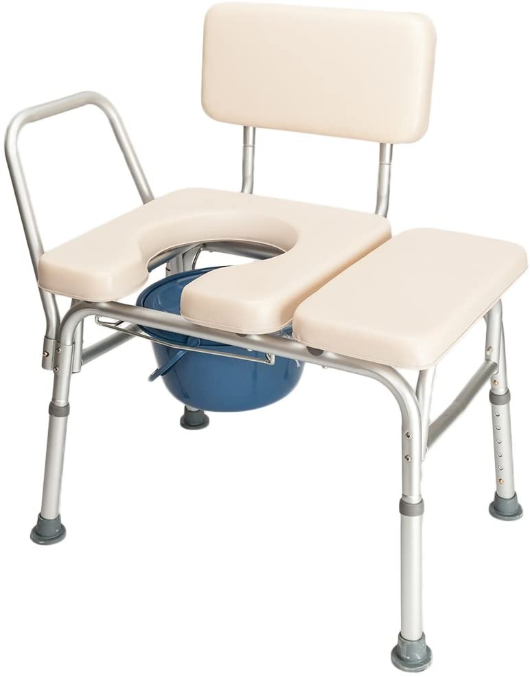 Binrrio Bedside Commode Chair Direct store Elderly Potty Extra Japan's largest assortment