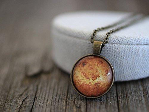 Planet Venus Necklace, Venus Necklace, Venus, Venus Jewelry