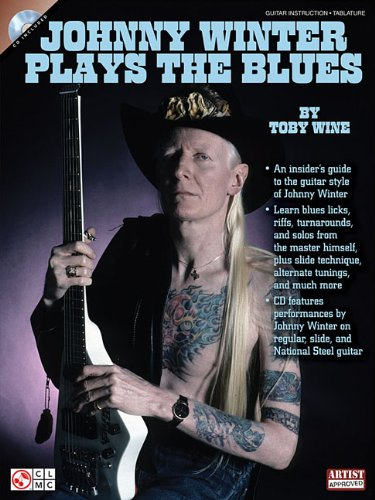 Johnny Winter Plays the Blues [With CD (Audio)] (Book & CD)