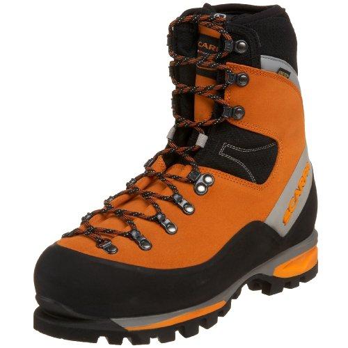 Scarpa Men's Mont Blanc Goretex Mountaineering Boot,Orange,45 M EU /11 1/2 M US Men