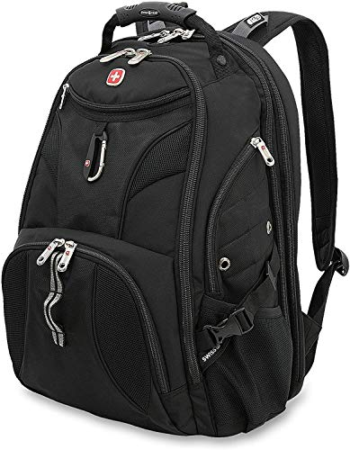 Swissgear Easy Scan Heavy Duty Carry On Backpack for International Travel