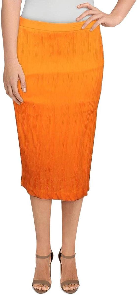 Max Mara Studio Womens Pencil Textured Knit Skirt