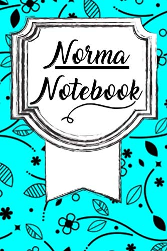 Norma Notebook: Personalized Name Journal for Women / Cute Lined Notebook / College Ruled Journal ( Personalized Gift For Norma )