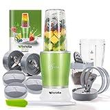 Genius Feelvita Nutri Mixer | Grün | 14 Teile | Stand-Mixer | Smoothie-Maker | Mixen & Rühren |...