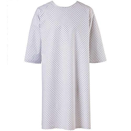 Exner Patientenhemd, Krankenhemd, Pflegehemd, Nachthemd, OP-Hemd, 1 St
