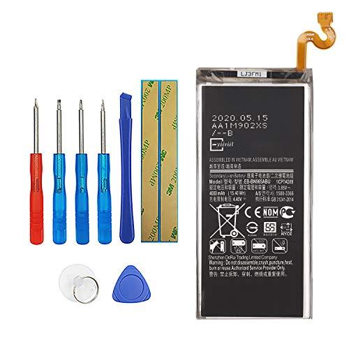 Vvsialeek EB-BN965ABU - Batería para teléfono móvil compatible con Samsung Galaxy Note 9 N9600 SM-N9600 con herramientas