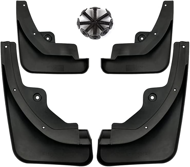 Time sale MSWRHC Automobile Now free shipping Exterior Mudguard Splash Tire Plate C Guard