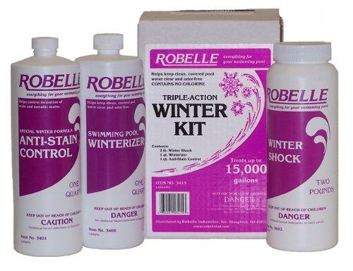 Robelle 3415 Triple-Action Winter Kit for Swimming Pools, 15000-Gallon