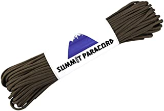 Mil-Spec Commercial Grade 550 50',100' Foot Type III 7 Strand Paracord/Parachute Cord