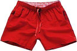 WINJIN Shorts de Bain Homme Maillot de Bain à séch