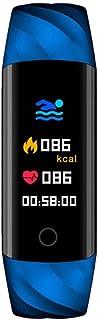 SXFYMWY Pulsera Inteligente monitorización de la presión Arterial de la frecuencia cardíaca multifunción Impermeable Actividad Fitness Tracker