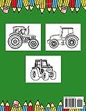 Zoom IMG-1 trattori libro da colorare per