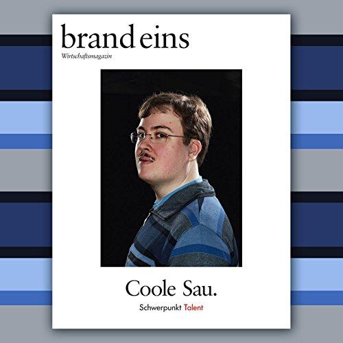brand eins audio: Talent audiobook cover art
