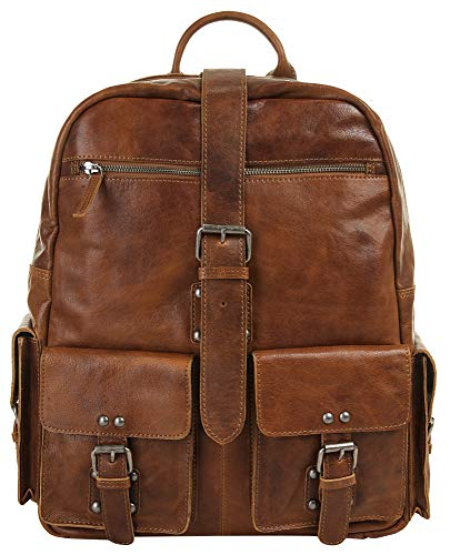 LandLeder Rucksack Rugged washed brown