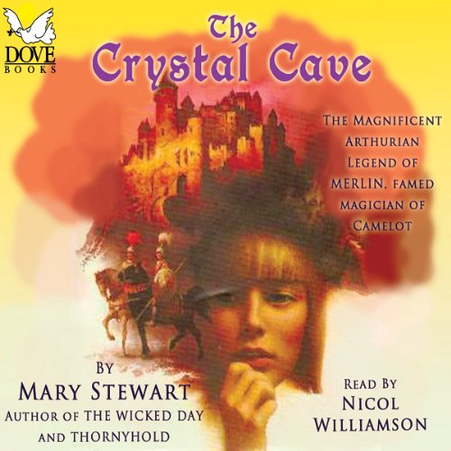 The Crystal Cave Audiobook By Mary Stewart cover art