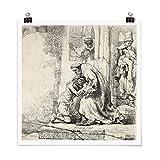 Bilderwelten Poster Rembrandt Van Rijn - Die Rückkehr des