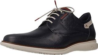 Fluchos   Zapato de Hombre   Fenix F0194 Brezza Oceano   Zapato de Piel de Vacuno de Primera Calidad   Cierre con Cordones...