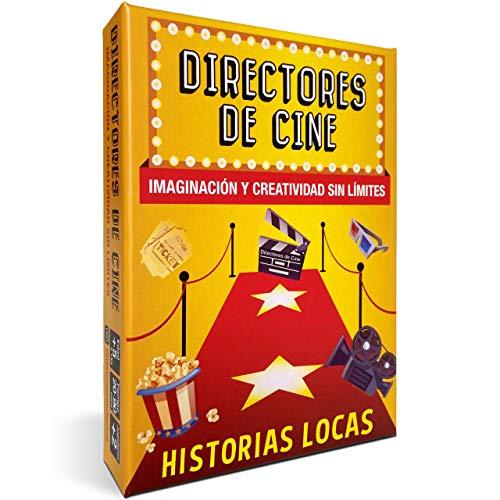 DIRECTORES DE CINE Historias LOCAS Juegos de Mesa Familiares. Divertidísimo Juego Educativo...