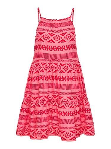 ONLY Damen Kleid Bedrucktes 38Pink Lemonade