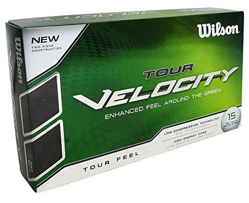 Wilson Staff WGWR60300, Homme Balle de Golf Souple en 2 Pièces pour une Sensation Augmentée et une...
