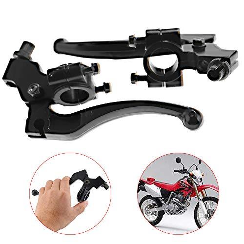 CNCMOTOK Left Right 7//8 22mm Clutch Brake Handle Levers Perch Fit Honda XR80 XR100 CRF70 CRF80 CRF100 Pit Dirt Motor Bike Motocross