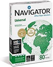 NAVIGATOR A4 UNIVERSAL; print- en kopieerpapier; A4; 1x500 vellen; 80 g (frustratievrije beschermende verpakking)