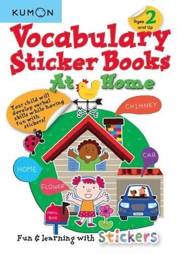 Vocabulary Sticker Books at Home