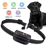 Queenmew Anti Dog Bark Collar, Dogs Barking Device Training Collars, Rechargeable & Waterproof