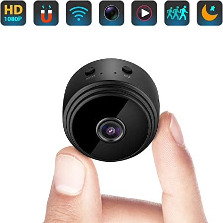 WHYTT Safety Hidden Small Wireless Video Camera 1080P Eye Glasses Hidden Camera NO Hole Portable Invisible DVR Video Cam HD High Tech Spy Cam,For Indoor Outdoor