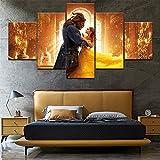 CXZZV Canvas Wohnzimmer dekorative Gemälde 200x100CM 5