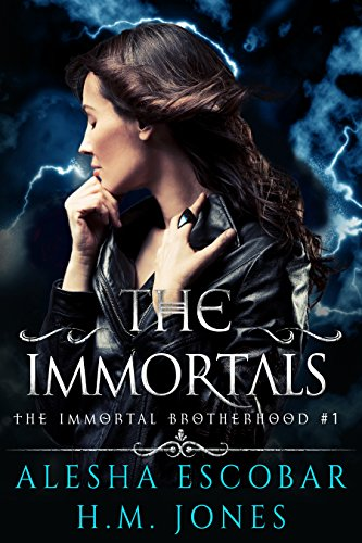 The Immortals (The Immortal Brotherhood Book 1) Kindle Edition by Alesha Escobar  (Author), H.M. Jones  (Author)