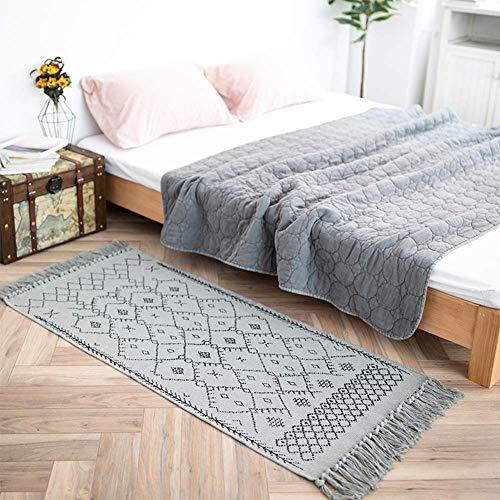 alfombra con flecos fabricante idee-home